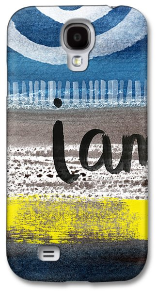 I Am- Abstract Painting Galaxy S4 Case by Linda Woods