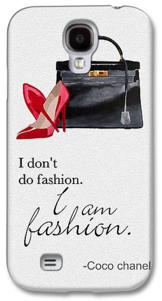 Grace Kelly Galaxy S4 Case - I Am Fashion by Rebecca Jenkins