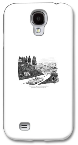 North Galaxy S4 Case - I Don't Think I Ever Before-realized The Distinct by Warren Miller