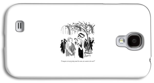 I Imagine Serenity's Pretty Much The Same Galaxy S4 Case by Donald Reilly