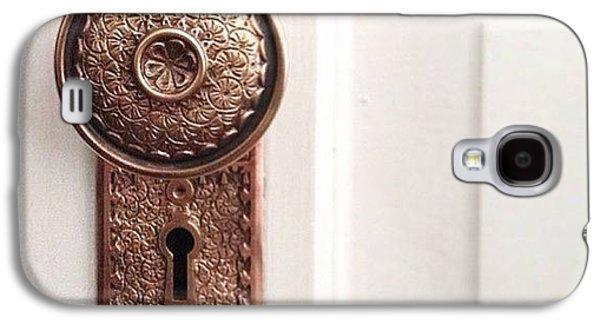 Decorative Galaxy S4 Case - I Just Love These Old Door Knobs! by Kim Schumacher
