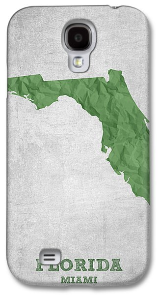 I Love Miami Florida - Green Galaxy S4 Case by Aged Pixel