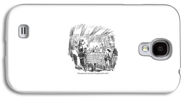 I Loved Your E-mail Galaxy S4 Case by Robert Weber