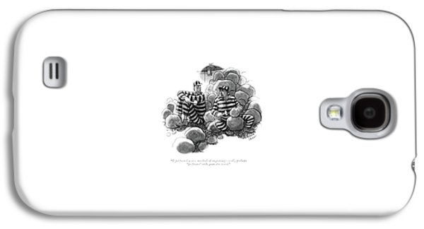 I Perfected A New Method Of Engraving - Well Galaxy S4 Case by Richard Decker