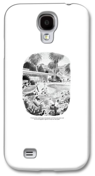 I Roamed The World Trying To Find Myself Galaxy S4 Case by Richard Taylor