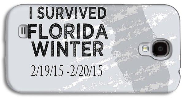 I Survived Florida Winter 2015 Galaxy S4 Case