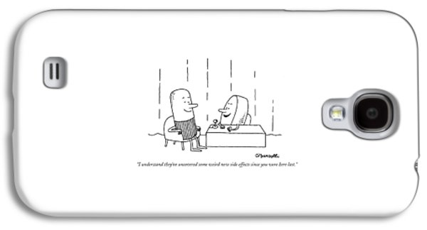 I Understand They've Uncovered Some Weird New Galaxy S4 Case by Charles Barsotti