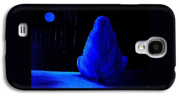 I Wanna Go Home But My Home Is Gone  Galaxy S4 Case by Hilde Widerberg