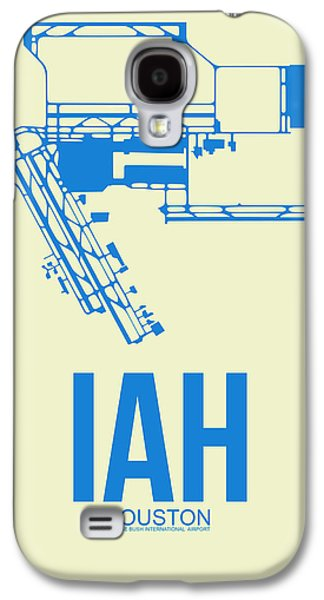 Iah Houston Airport Poster 3 Galaxy S4 Case