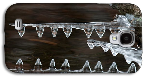 Ice Crocodiles Galaxy S4 Case by Lara Ellis