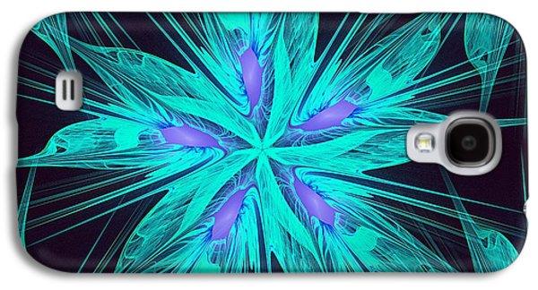 Ice Flower Galaxy S4 Case