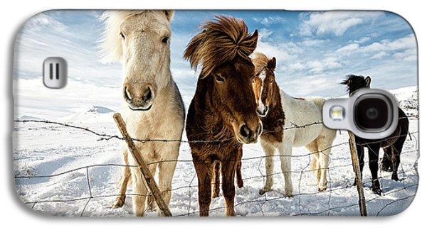Icelandic Hair Style Galaxy S4 Case