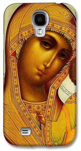Icon Of The Virgin Kazanskaya Galaxy S4 Case by Dmitrii Smirnov