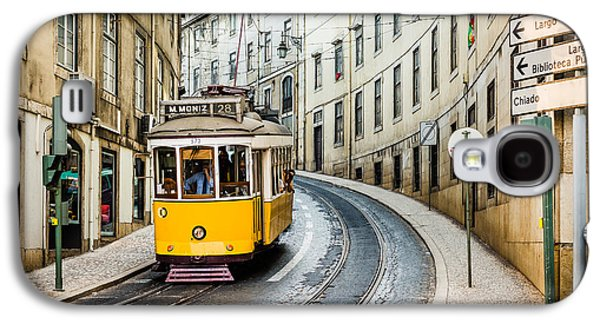 Travel Galaxy S4 Case - Iconic Lisbon Streetcar No. 28 IIi by Marco Oliveira