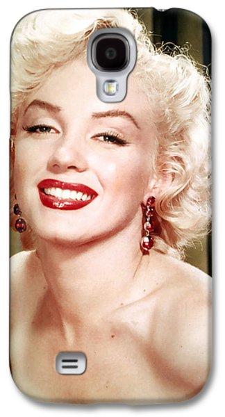 Marilyn Monroe Galaxy S4 Case - Iconic Marilyn Monroe by Georgia Fowler