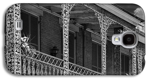 Iconic New Orleans Wrought Iron Balcony Galaxy S4 Case by Christine Till
