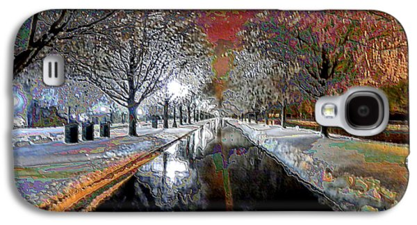 Icy Entrance To Keeneland Galaxy S4 Case by Christopher Hignite
