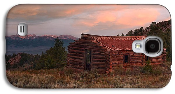 Idaho Pioneer Historical Cabin Galaxy S4 Case by Leland D Howard