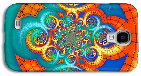 If Orange Is The New Blue . . . Galaxy S4 Case by Wendy J St Christopher