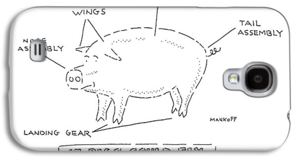 If Pigs Could Fly Galaxy S4 Case