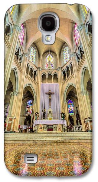 Iglesia De San Isidro De Coronado In Costa Rica Vertical Galaxy S4 Case