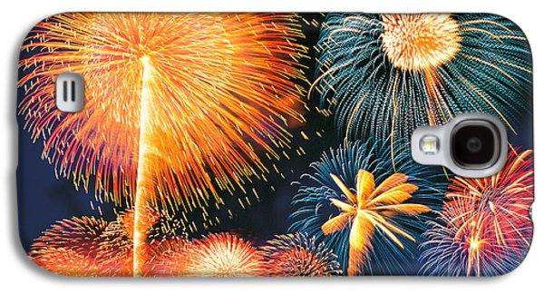 Ignited Fireworks Galaxy S4 Case by Panoramic Images