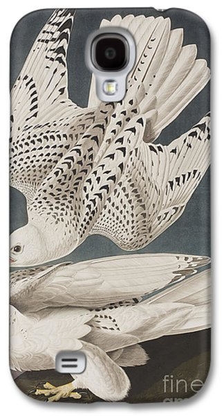Illustration From Birds Of America Galaxy S4 Case by John James Audubon