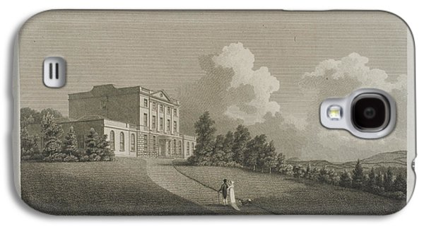 Illustration Of Downe Hall Galaxy S4 Case by British Library