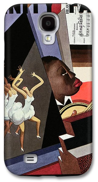 Illustration Of Harlem Entertainers Galaxy S4 Case by William Bolin