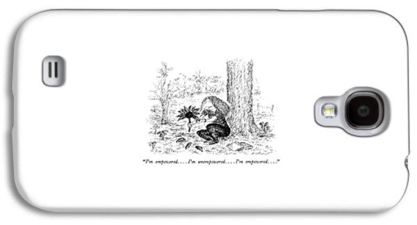 I'm Empowered . . . . I'm Unempowered . . . . I'm Galaxy S4 Case by Edward Koren
