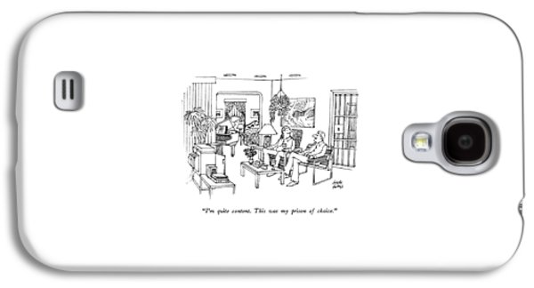 I'm Quite Content.  This Was My Prison Of Choice Galaxy S4 Case by Joseph Farris