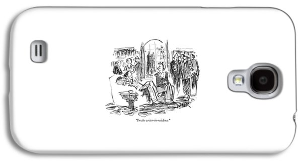 I'm The Writer-in-residence Galaxy S4 Case by Robert Weber