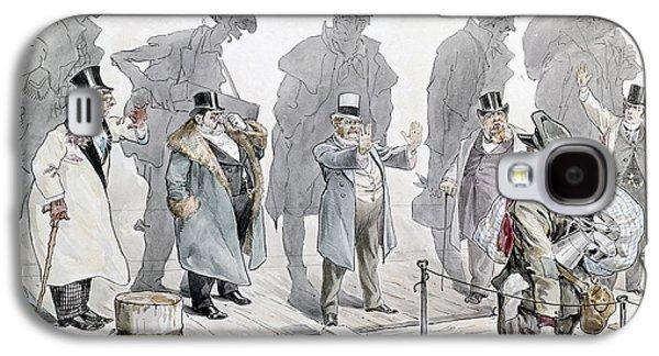 Immigration Cartoon, 1893 Galaxy S4 Case