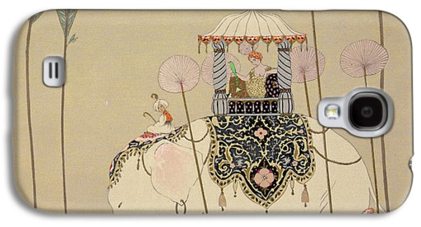 Imperial Procession Galaxy S4 Case by Georges Barbier