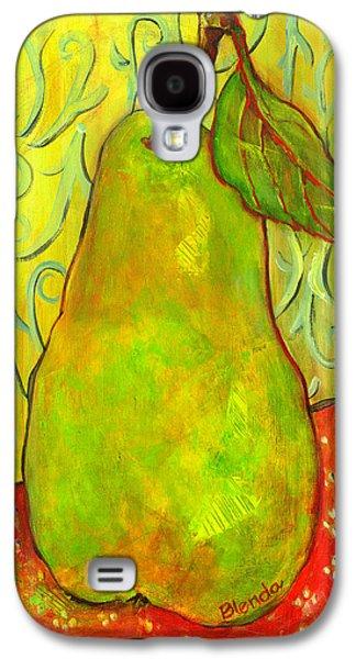 Impressionist Style Pear Galaxy S4 Case by Blenda Studio