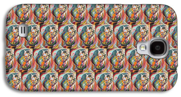 Improvisation IIi Collage 4 Galaxy S4 Case by Wassily Kandinsky
