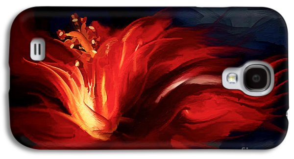 In Red Galaxy S4 Case by Shanina Conway