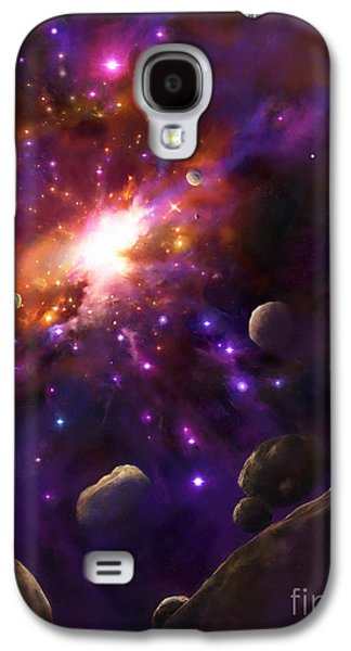 In The Beginning... Galaxy S4 Case