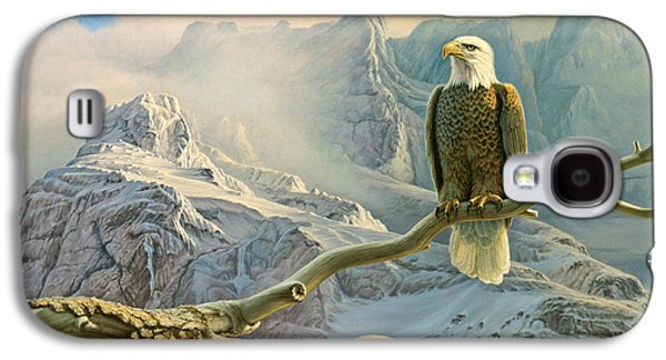 Eagle Galaxy S4 Case - In The High Country-eagle by Paul Krapf