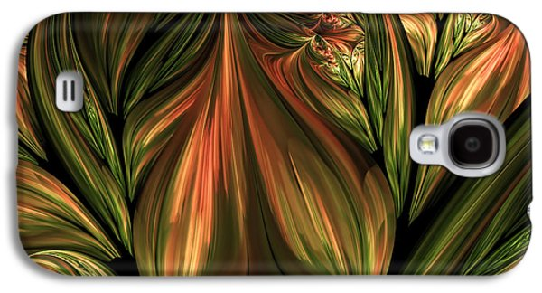 In The Midst Of Nature Abstract Galaxy S4 Case by Georgiana Romanovna