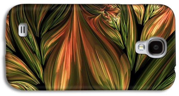 In The Midst Of Nature Abstract Galaxy S4 Case