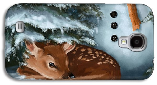 In The Snow Galaxy S4 Case by Veronica Minozzi