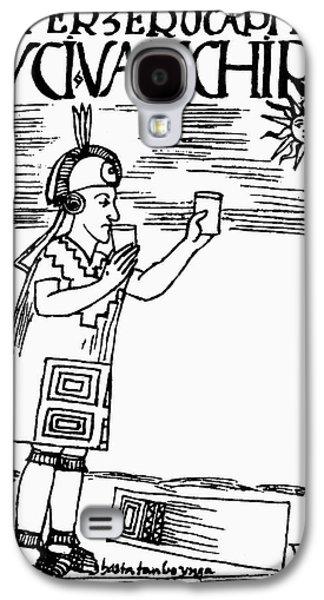 Inca Sun Worship Galaxy S4 Case