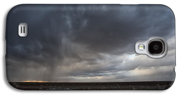 Incoming Storm Over A Cotton Field Galaxy S4 Case