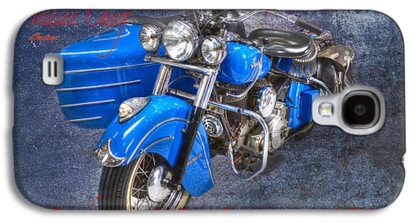 Indian Chief Motorcycle Legend Galaxy S4 Case by Heiko Koehrer-Wagner