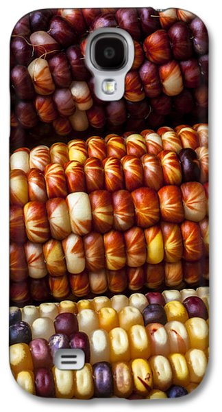 Indian Corn Harvest Time Galaxy S4 Case by Garry Gay