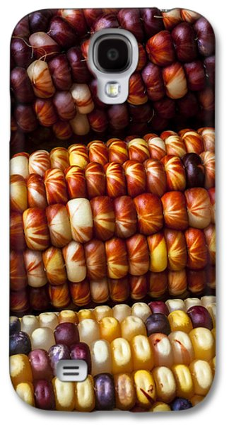 Vegetables Galaxy S4 Case - Indian Corn Harvest Time by Garry Gay