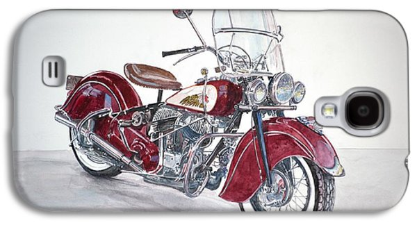 Indian Motorcycle Galaxy S4 Case by Anthony Butera