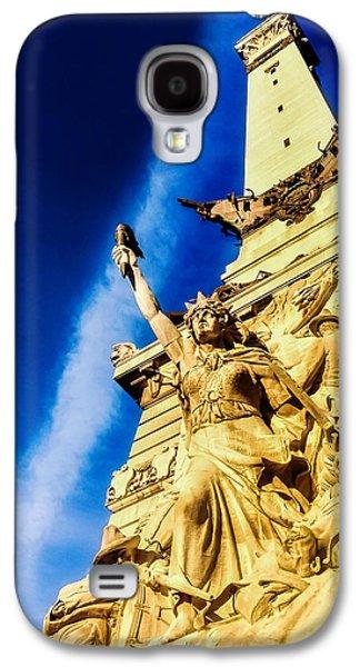 Indiana Civil War Monument Galaxy S4 Case