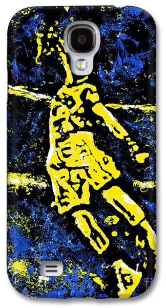 Indiana Pacers Galaxy S4 Case by Alys Caviness-Gober
